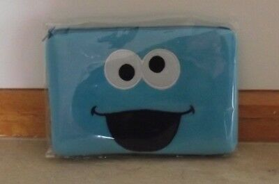 Sesame Street Cookie Monster Makeup Bag/Pencil Case ~ New With Tags