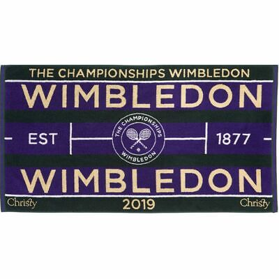 Mens & Womens WIMBLEDON TOWEL OFFICIAL 2019 TENNIS CHAMPIONSHIPS Free SHIPPING