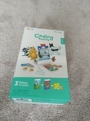 Osmo Coding Family (Coding Awbie, Coding JAM, Coding DUO) 3 Games RRP £100