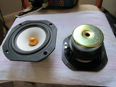 MONITOR AUDIO BRAND. MODEL SILVER CENTRE. 1pr of WOOFERS/SPEAKER DRIVERS. WORK!