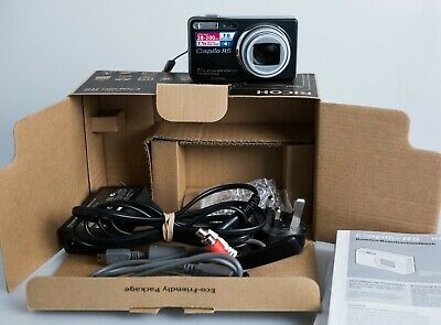 Boxed Ricoh Caplio R5 7Mp Compact Digital Camera Fast Free P&P Uk Retro Vintage