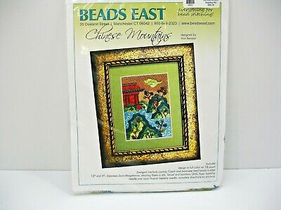 Beads East, Designer Bead Kit, Chinese Mountains, New, Bead Point, 5 X 7 Inches