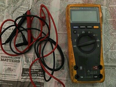 FLUKE 77IV DIGITAL Multimeter - $149 00 | PicClick
