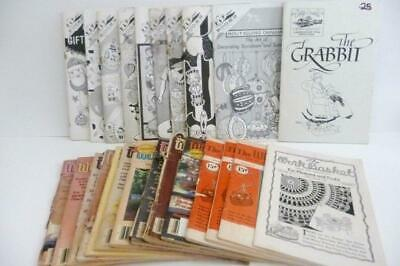 Vintage 23 Booklets CRAFT & KNITTING WORKBASKET KAP Kraft ideas GRABBIT 1940-86