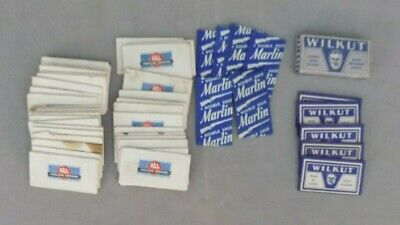 Large Lot of Razor Blades Pal Wilkut in Box Marlin Double Edge Safety