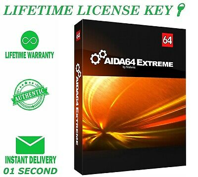AIDA64 Extreme ✔️ 1 SECOND DELIVERY🔑100% Genuine 🔑 Lifetime License Keys ✔️
