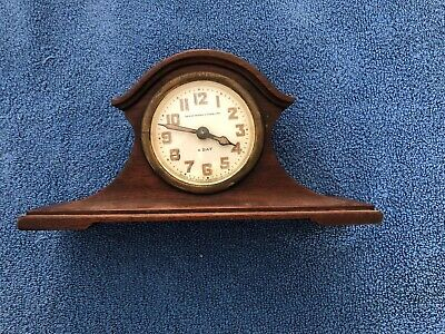 Antique HENRY BIRKS & Sons Made By Seth Thomas Mantle Clock WORKING