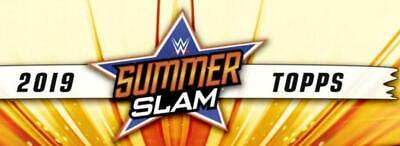 2019 Topps WWE Summerslam Wrestling Base and Insert Cards Pick From List