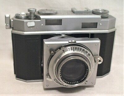Agfa K36 (Karat 36) 35Mm Rangefinder W/ Xenon 50Mm F:2 On Compur Rapid Shutter