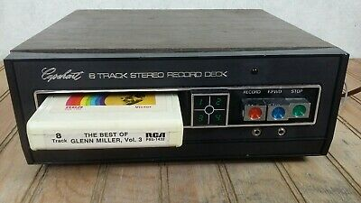 Vintage Capehart 8 Track Home Stereo Player Deck - Superb Condition
