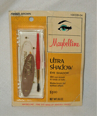 32fbfe97a33 VINTAGE MAYBELLINE CAKE Mascara Creamy Smooth Color Lashes and Brows ...