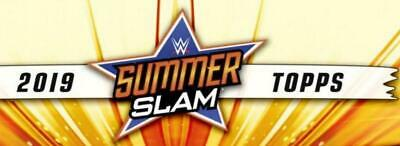 2019 Topps WWE SummerSlam Bronze or Blue Wrestling Cards Pick From List