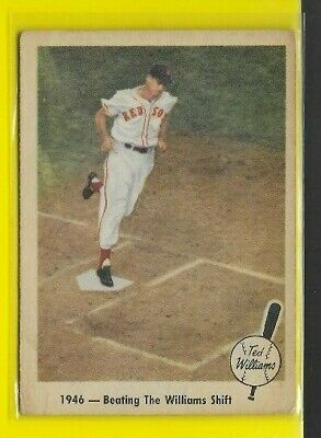 1959 Fleer Ted Williams Boston Red Sox Beating Shift #30 🤩🚀