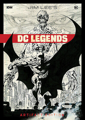 "Jim Lee: DC Legends ""Artifact Edition"" Oversized HC Hardcover by IDW - Brand NEW"