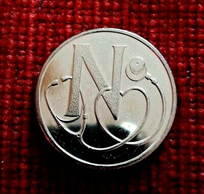 2019 Alphabet 10p Ten Pence Coin Letter N- NHS - Uncirculated from a sealed bag