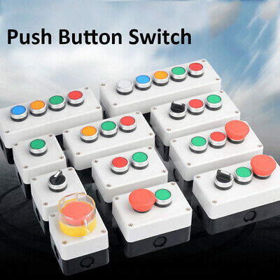 Push Button Control Station Up/Down Tail Lift stop start keyswitch roller door