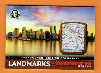 2018-19 O-Pee-Chee Canadian Tire Reliics Landmarks Vancouver