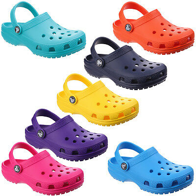Crocs Classic Clogs Childrens Summer Beach Croslite Kids Boys Girls Sandals Shoe