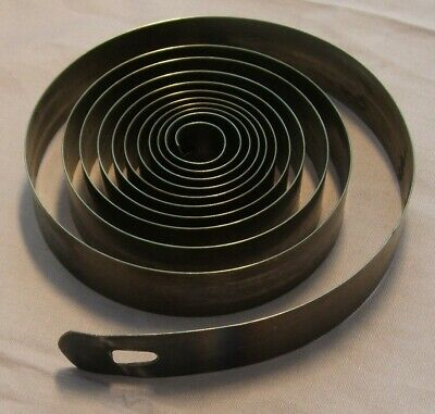 CLOCK PARTS SPARES - MAIN SPRING - 17.8mm x 0.48mm - FREE POSTAGE -