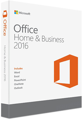 Genuine Microsoft Office 2016 For Mac Home & Business +