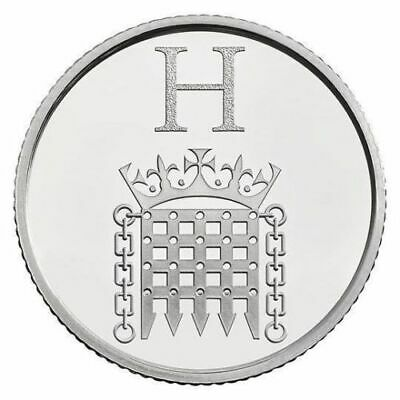 A - Z Alphabet Coin Hunt 2018 Letter  H - Houses of Parliament  10p new,