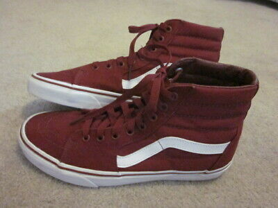 c9ada0ab435c RADII APEX MENS Red Suede High Top Lace Up Sneakers Shoes - $24.99 ...