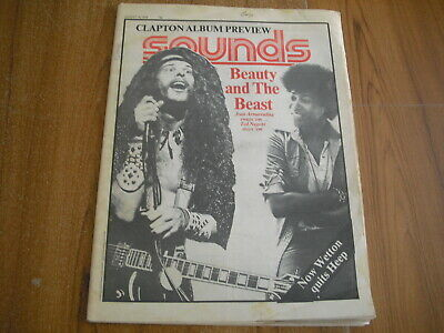 SOUNDS - AUGUST 14th 1976 - JOAN ARMATRADING, EMMYLOU HARRIS, TED NUGENT