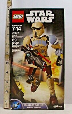 Lego Star Wars Scarif Stormtrooper Buildables Figure Set 75523 Sealed 89 Pieces