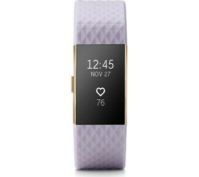 FitBit Charge 2 Special Edition Fitness Activity Tracker - lavender/rose gold