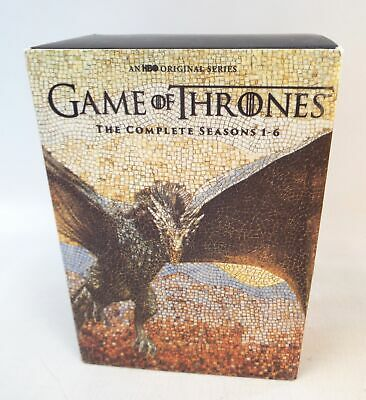 GAME OF THRONES The Complete Seasons 1 - 6 DVD Box Set - Region 1 - A13