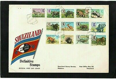 Swaziland - 1969 - Definitive - First Day Cover - With Mbabane Cds Postmarks