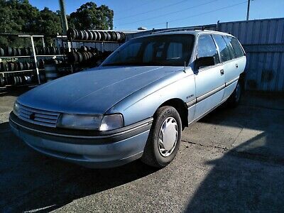 Holden Commodore Vn V6 Auto Wagon Built 2/1991 Good Project Base Runs Rough