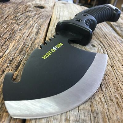 "10.5"" BLK TACTICAL SURVIVAL TOMAHAWK THROWING AXE BATTLE Hatchet knife hunting a"