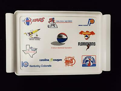 Early 1970s ABA American Basketball Association Tray Squires Condors Colonels+