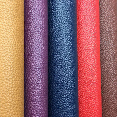 PU Leather Fabric Faux Leather For Sewing Bag Clothing Sofa Car Material DIY