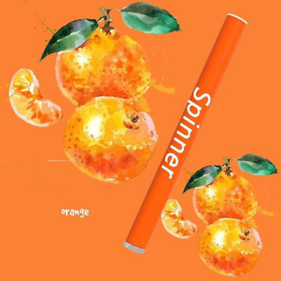 SPINNER Orange Single-Use 400 Puffs Battery 300mAh Disposable E-Cigarette