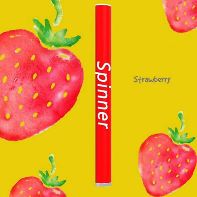 SPINNER Strawberry Single-Use 400 Puffs Battery 300mAh Disposable E-Cigarette
