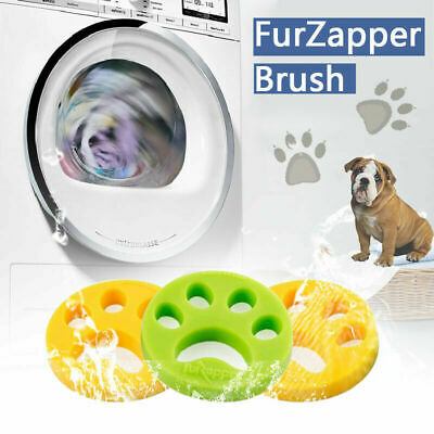 FurZapper 2 Pack Pet Hair Remover - Removes Cat Fur Dog Hair from Laundry UK