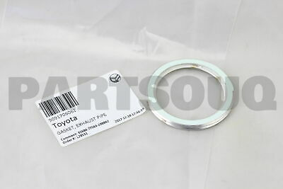 For Toyota Genuine Exhaust Pipe to Manifold Gasket 9091706061