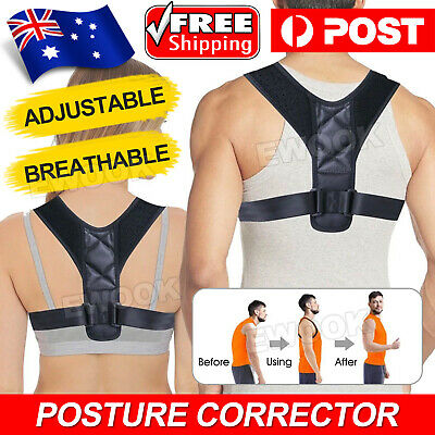 Adjustable Posture Corrector Brace Back Clavicle Shoulder for Women Men