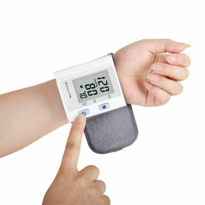 Blood Pressure Monitor Automatic Digital Wrist Test Meter Intellisense Memory UK