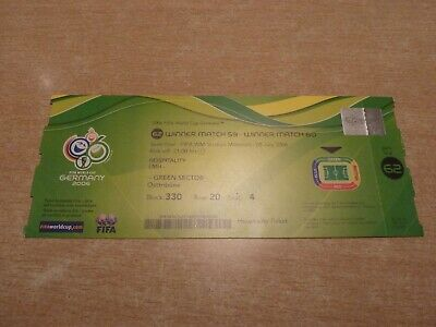 ticket france - portugal   05/07/2006