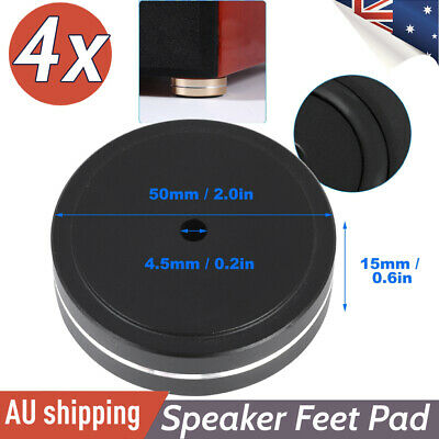 4pcs Audio Amplifier Feet Pad Speaker HIFI Isolation Damper Pad Turntable DAC AU