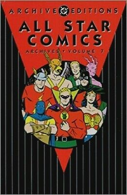 Dc All Star Comics Golden Age Archive Edition # 7 Hc Hard Back Trade Comic Book