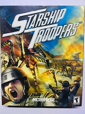 Starship Troopers PC CD-ROM In the original box