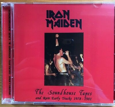 """Iron Maiden """"The Soundhouse Tapes"""" Rare Cd !"""