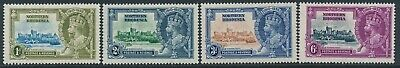 SG 18 - 21 northern Rhodesia 1935 Silver Jubilee Set very lightly mounted mint