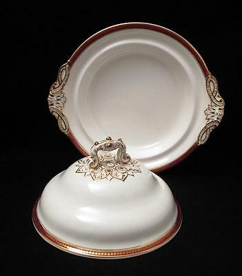 Exquisite Antique Victorian W.t. Copeland Lidded Porcelain Tureen Spode Works