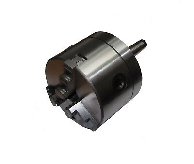 RDGTOOLS 100mm 3-jaw lathe chuck on a 3 morse taper 3mt LATHES MILLING