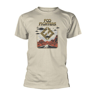 Official Foo Fighters T Shirt Concrete & Gold Roswell Rock Metal Tee Dave Grohl